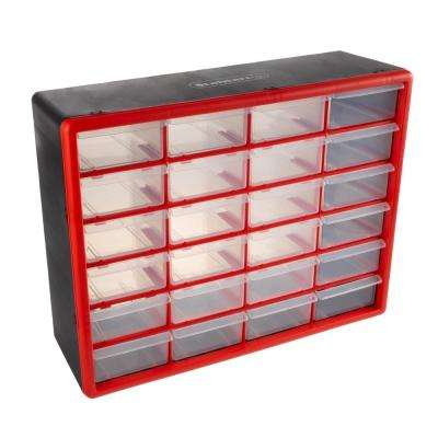 24-Compartment Small Parts Organizer