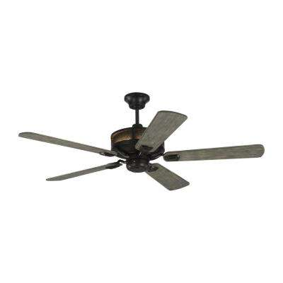 Artizan 56 in. Indoor/Outdoor Aged Pewter Ceiling Fan