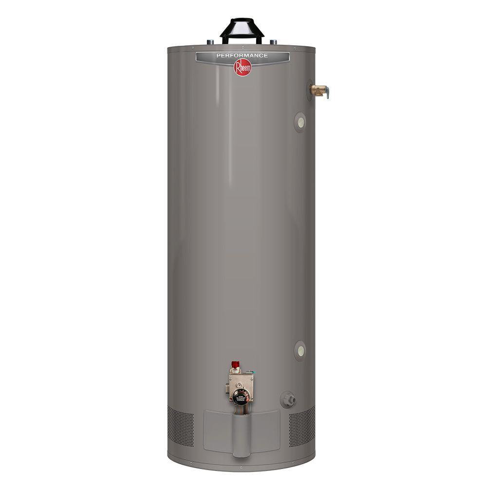Rheem Performance 75 Gal. Tall 6 Year 75100 BTU Liquid Propane Tank Water Heater  sc 1 st  The Home Depot : 75 gallon water storage tank  - Aquiesqueretaro.Com