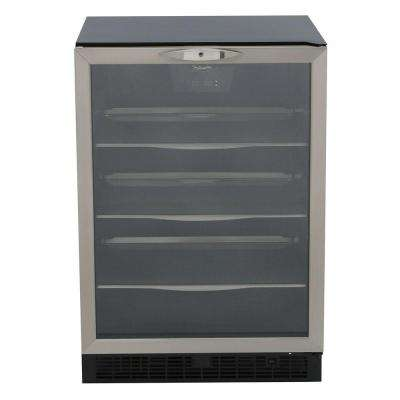 Silhouette 11-Bottle Wine and 112-Can Built-In Beverage Cooler