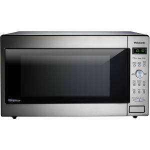 Panasonic 2.2 cu. ft. Countertop Microwave in Stainless Steel Built in Capable with Sensor Cooking and Inverter... by Panasonic