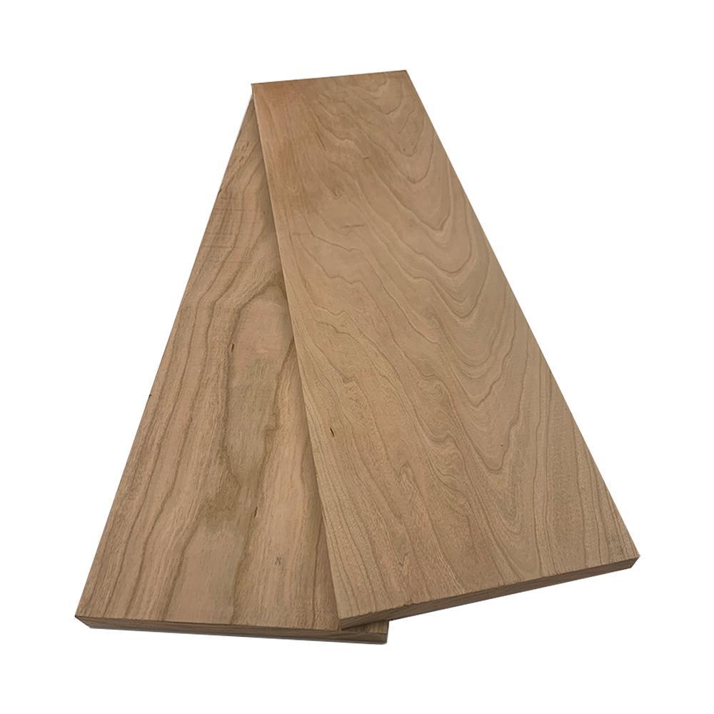 1 in. x 8 in. x 8 ft. Cherry S4S Board (2-Pack)