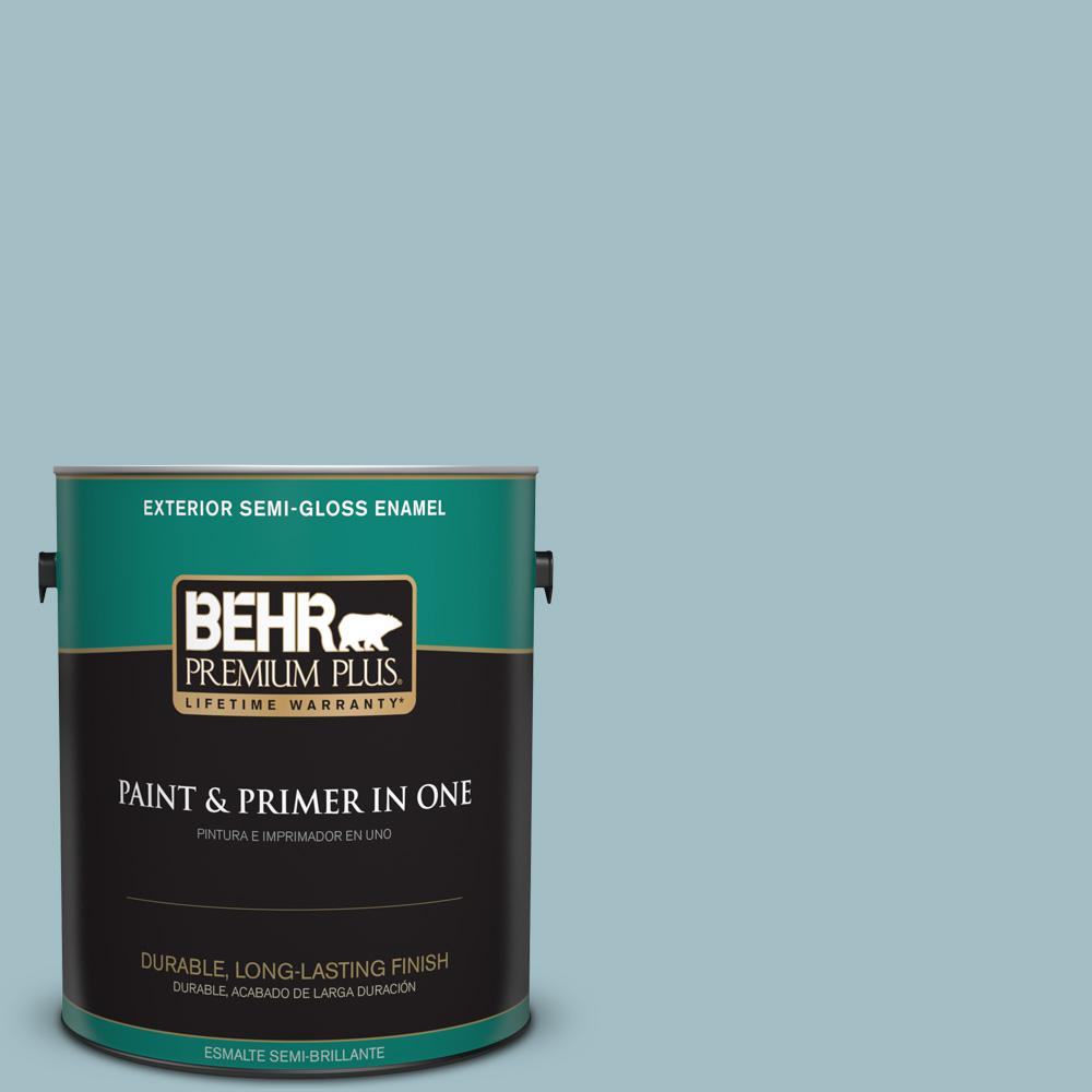 1 gal. #PPU13-11 Clear Vista Semi-Gloss Enamel Exterior Paint