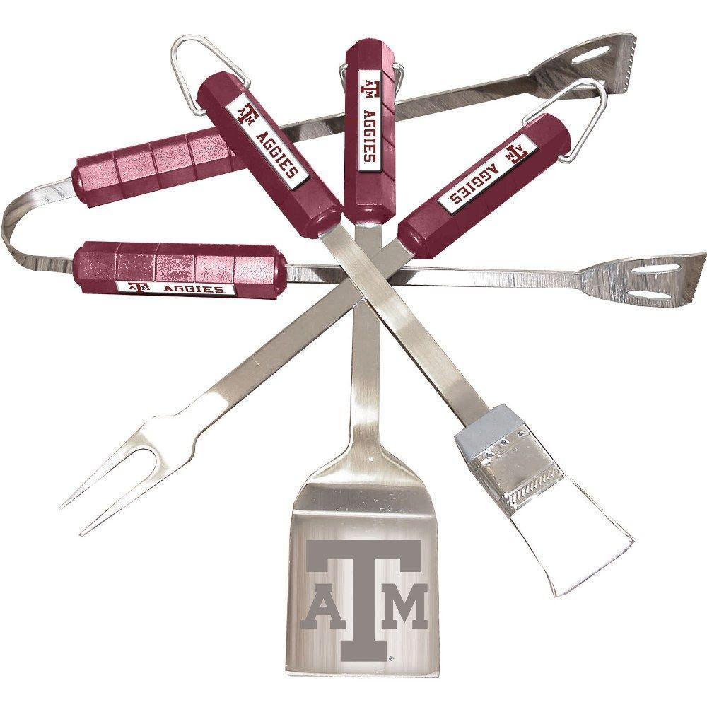 NCAA Texas A&M Aggies 4-Piece Grill Tool Set