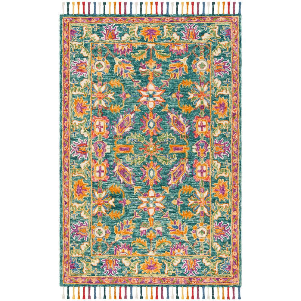 Kaleen Cord Turquoise 8 Ft. X 10 Ft. Area Rug-CRD01-78-810