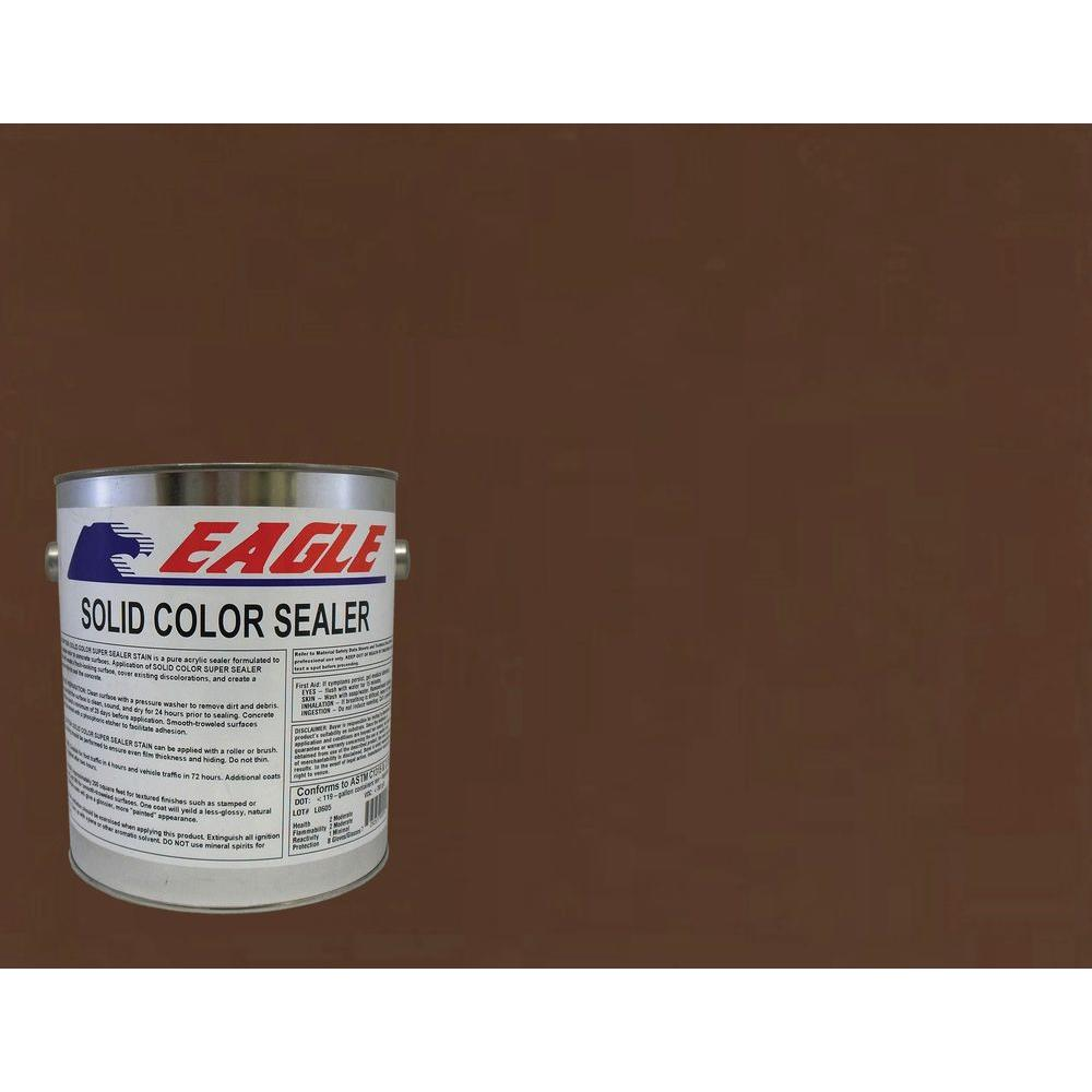 Eagle 1 gal. Terrazzo Tile Solid Color Solvent Based Concrete Sealer