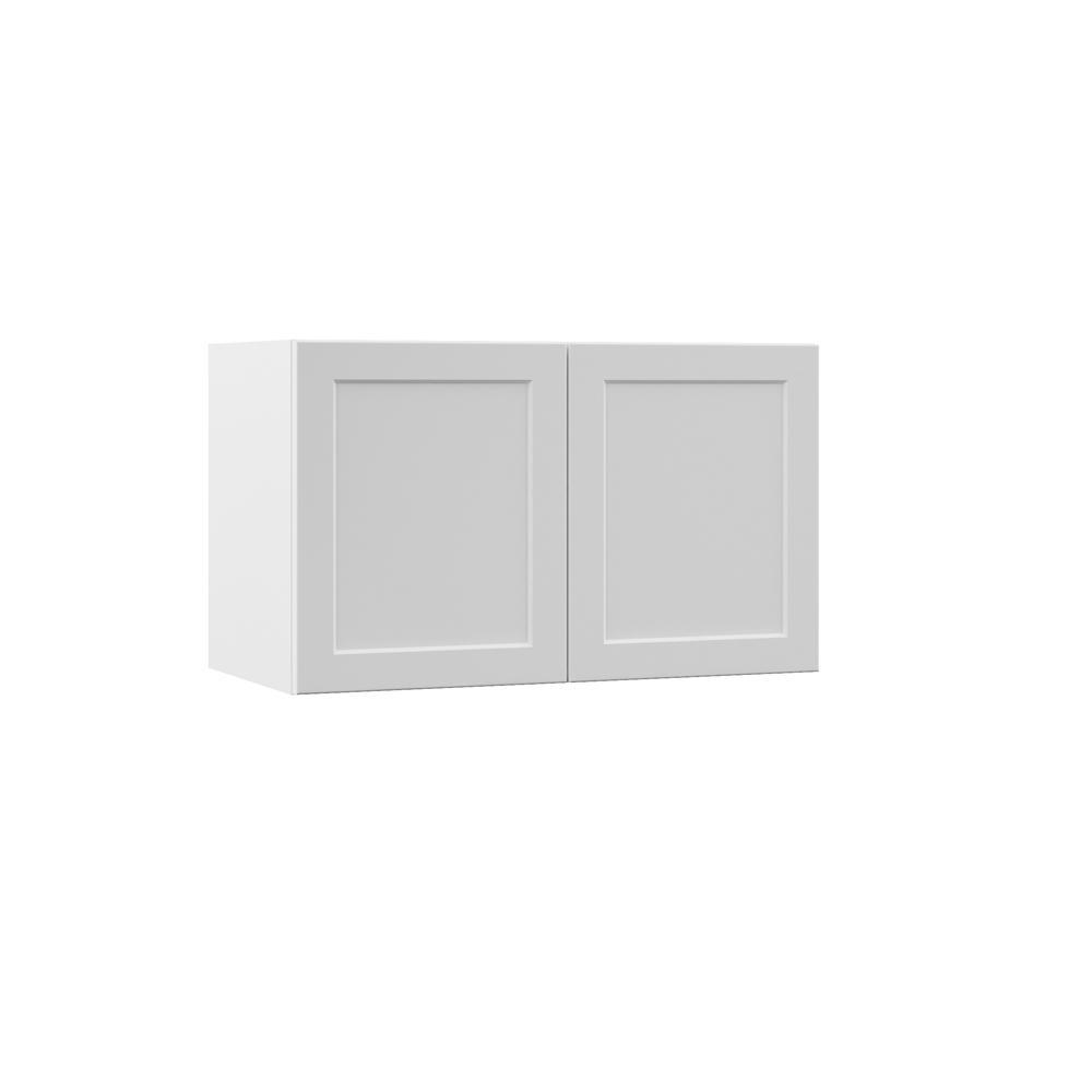 Frameless Kitchen Cabinets Home Depot: Hampton Bay Designer Series Melvern Assembled 30x18x15 In
