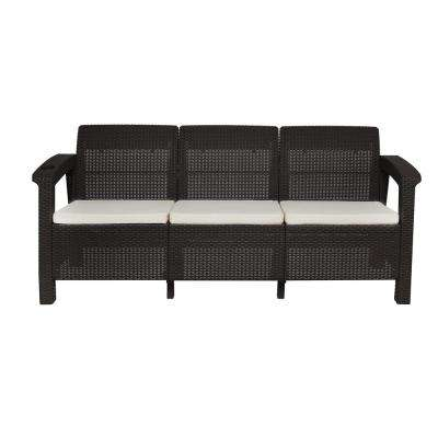 Plastic - Outdoor Sofas - Outdoor Lounge Furniture - The Home Depot