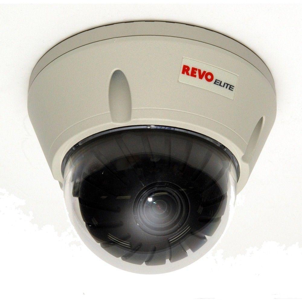 Revo Elite 700 TVL Indoor/Outdoor Vandal Proof Dome Surveillance Camera