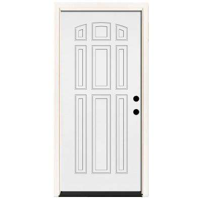 white front door6916  Steel Doors  Front Doors  The Home Depot