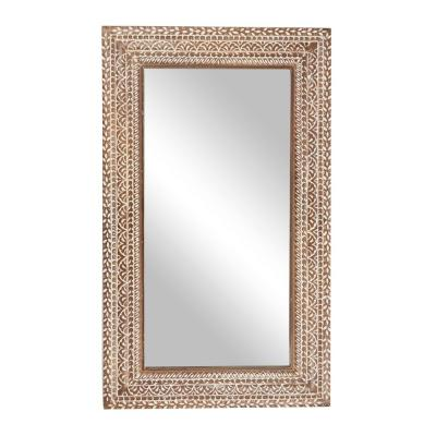 Wall Mirrors The Home Depot, 60 X 40 Wood Frame Mirror