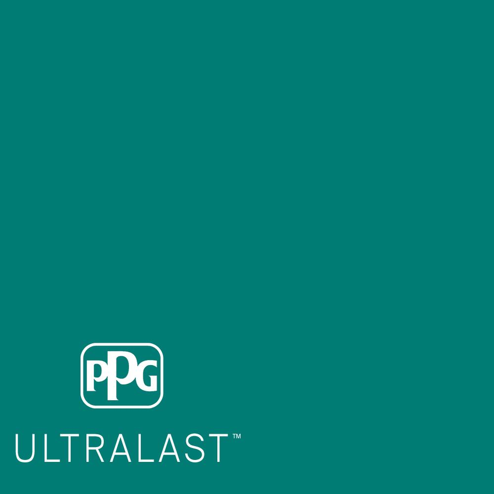 Ppg Ultralast 5 Gal Ppg1231 7 Romantic Isle Semi Gloss Interior Paint And Primer Ppg1231 7u 05sg The Home Depot