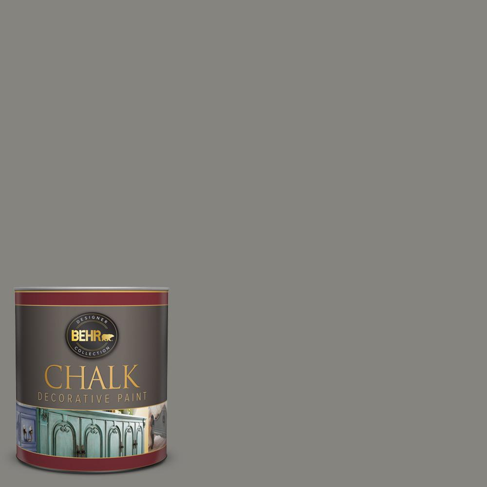 BEHR 1 qt. #PPU24-07 Barnwood Gray Interior Chalk Decorative Paint