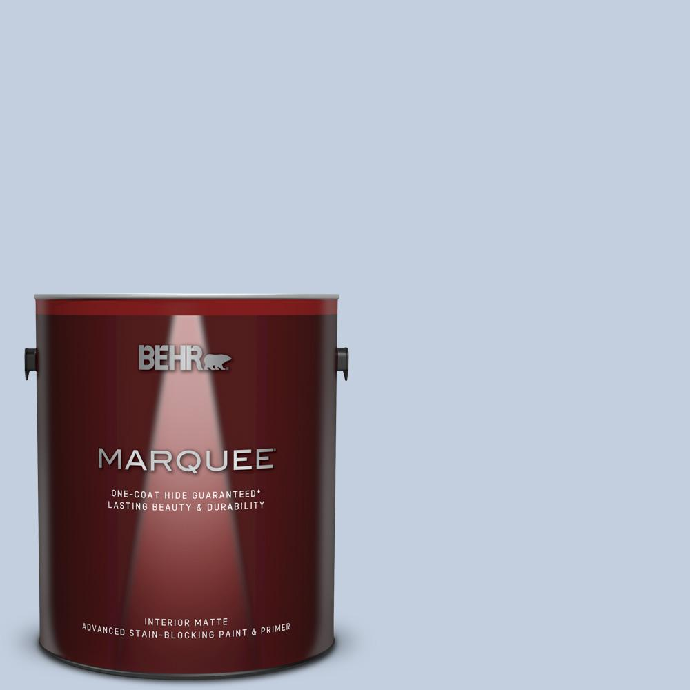 BEHRMARQUEE BEHR MARQUEE 1 gal. #PPU15-17 Monet One-Coat Hide Matte Interior Paint and Primer in One