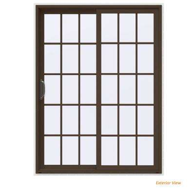 V-4500 Contemporary Brown Painted Vinyl Left-  sc 1 st  The Home Depot : vinyl door - Pezcame.Com