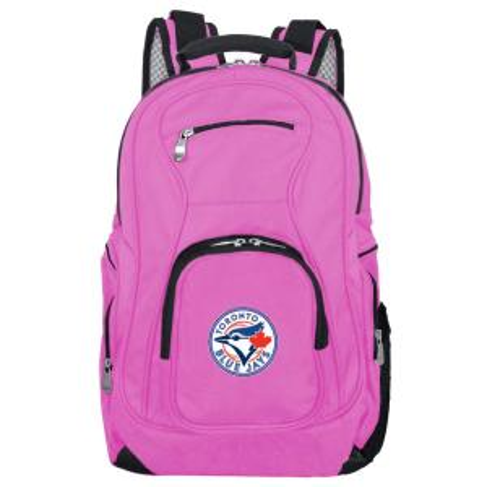 MLB Toronto Blue Jays 19 in. Pink Laptop Backpack