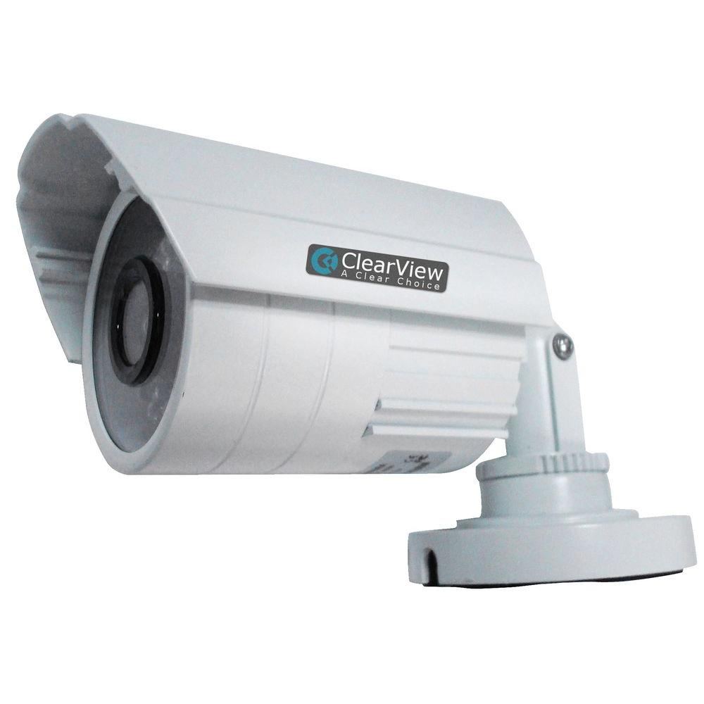 Wired 520TVL Indoor/Outdoor 0.6 mm IR Bullet Camera with 65 ft.