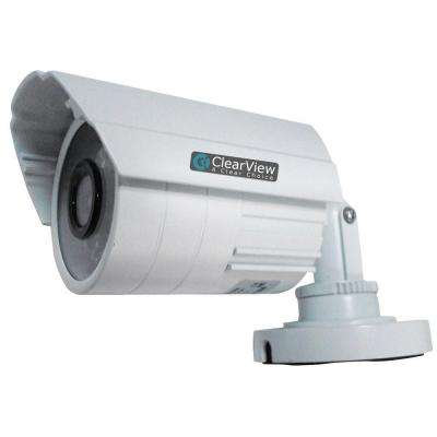 Wired 520TVL Indoor/Outdoor 0.6 mm IR Bullet Camera with 65 ft. IR Range