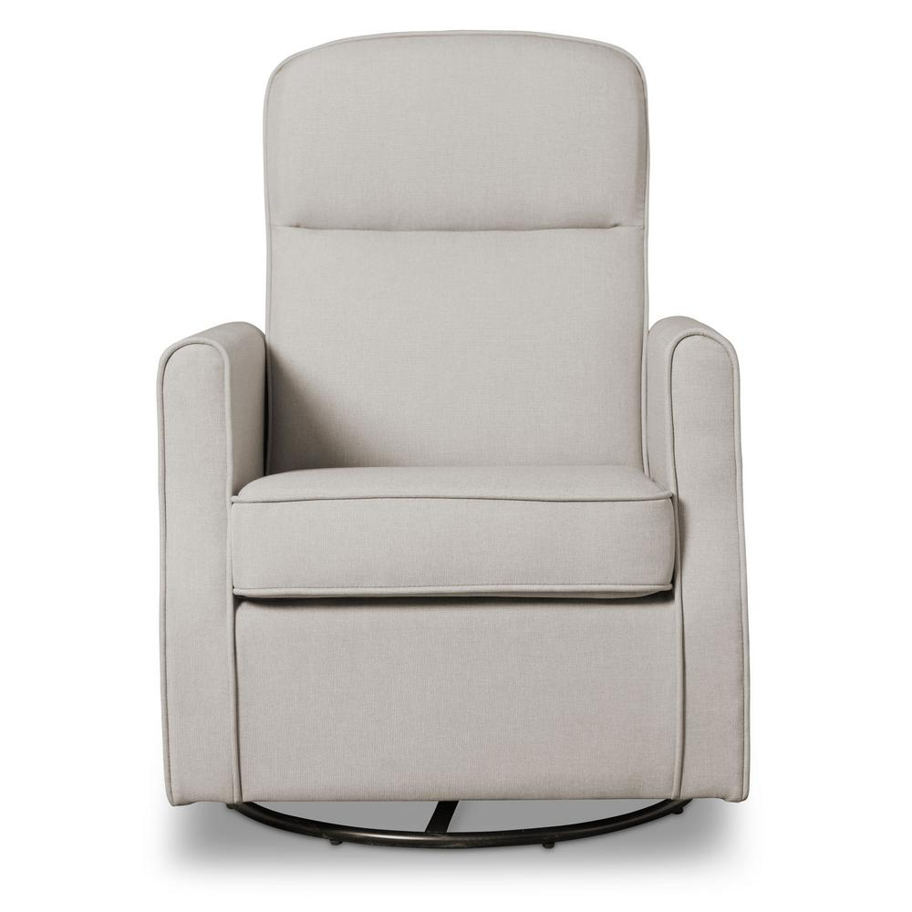 Delta Children Taupe Blair Glider Swivel Rocker Chair, Brown Delta Children Taupe Blair Glider Swivel Rocker Chair, Brown
