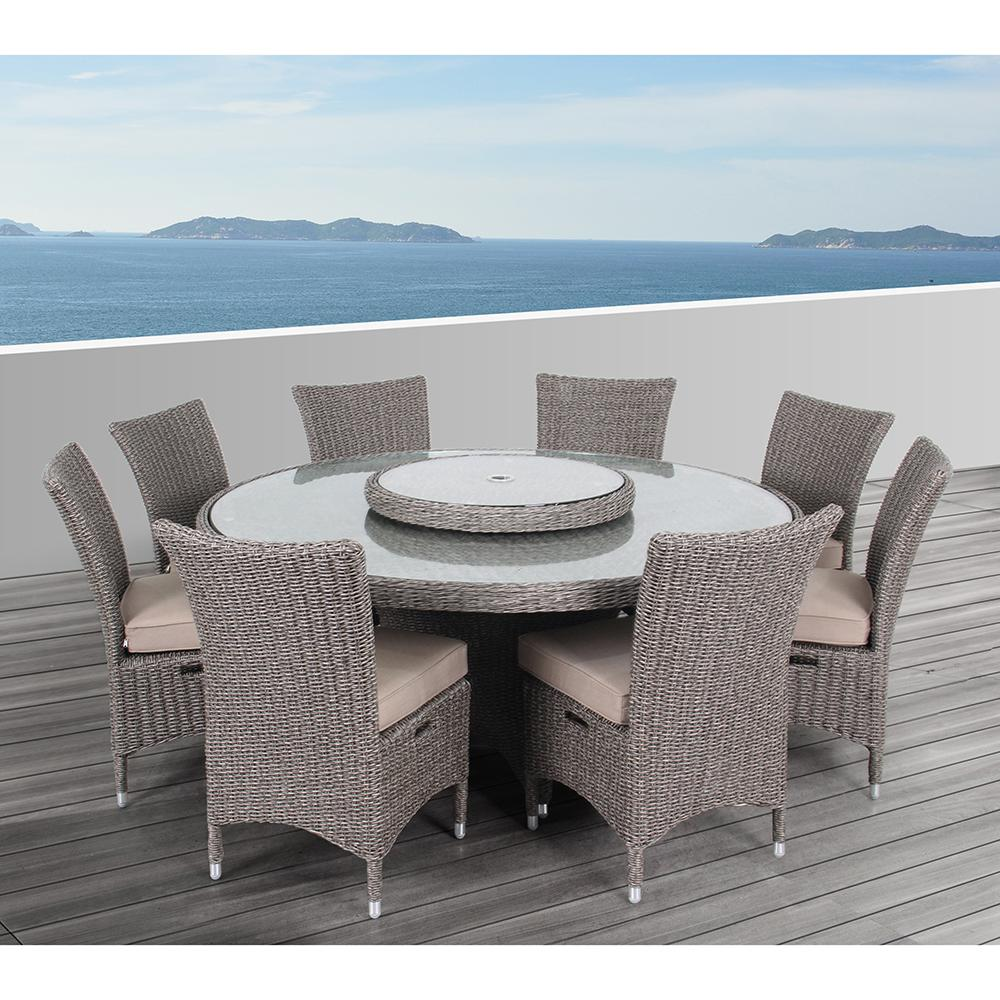 Round Outdoor Dining Sets
