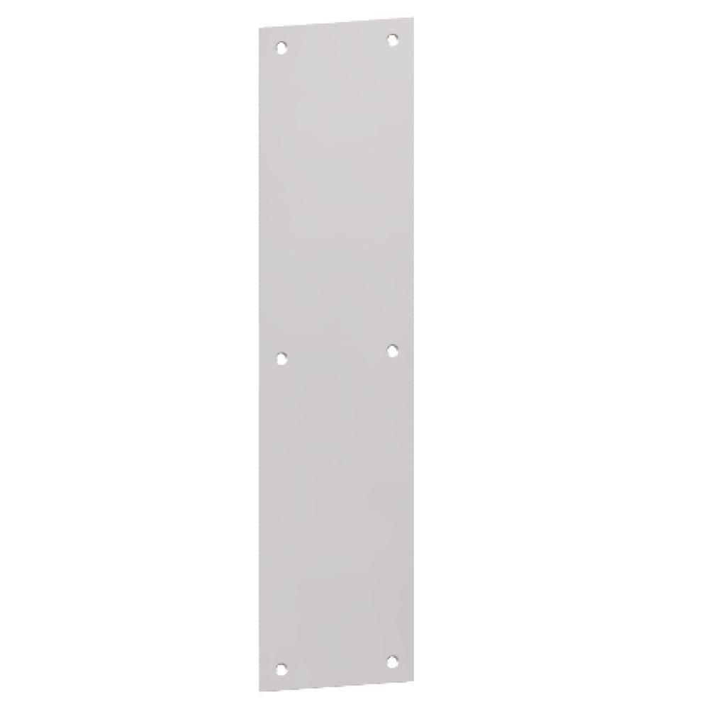 Hager Stainless Steel Push Plate