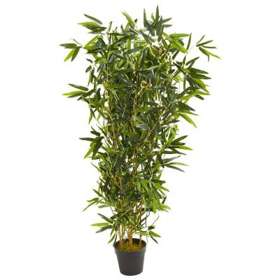 57 in. Indoor/Outdoor Bamboo Artificial Tree