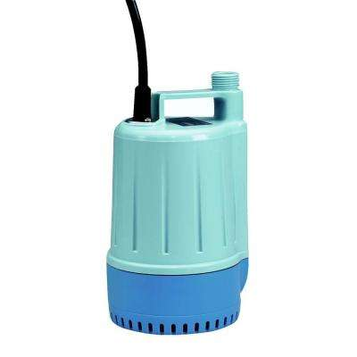 1/6 HP Garden Hose Small Utility Submersible Pump (4-Pack)
