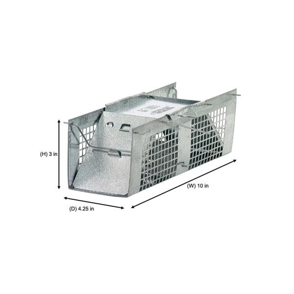 Havahart X Small 2 Door Professional Live Animal Cage Trap For Mice Rat And Vole 1025 The Home Depot Get the best deals on plastic cage other small animal supplies. havahart