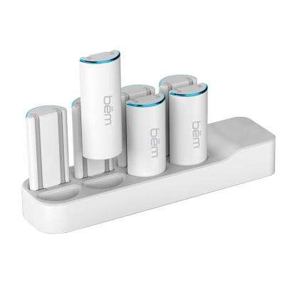 2600mAh Dual Cord Power Bank with Charging Station (8-Piece)