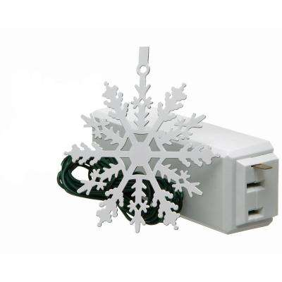 Tree Light On/Off Touch Ornament Snowflake