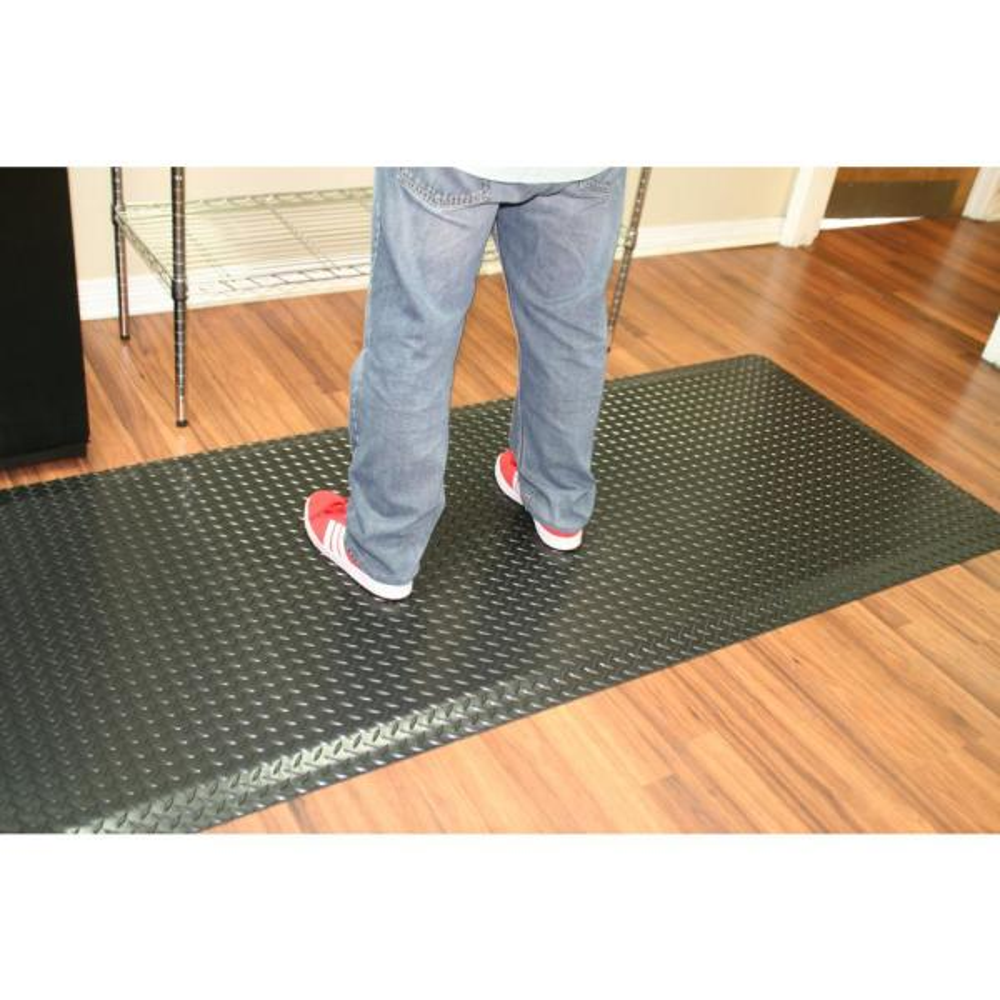 3 x 5 Marble Blue Durable Grand-Stand Vinyl Anti-Fatigue Floor Mat