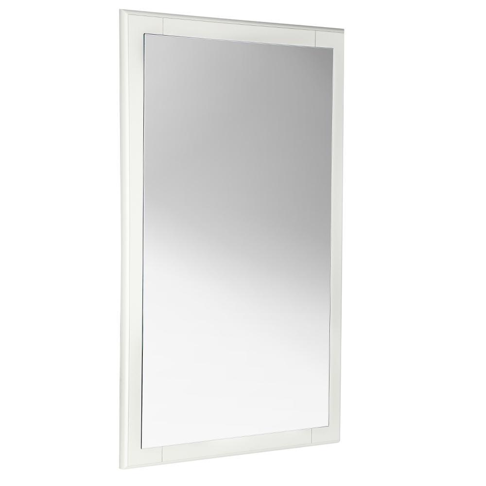 Oxford 20 in. W x 32 in. H Framed Wall Mirror