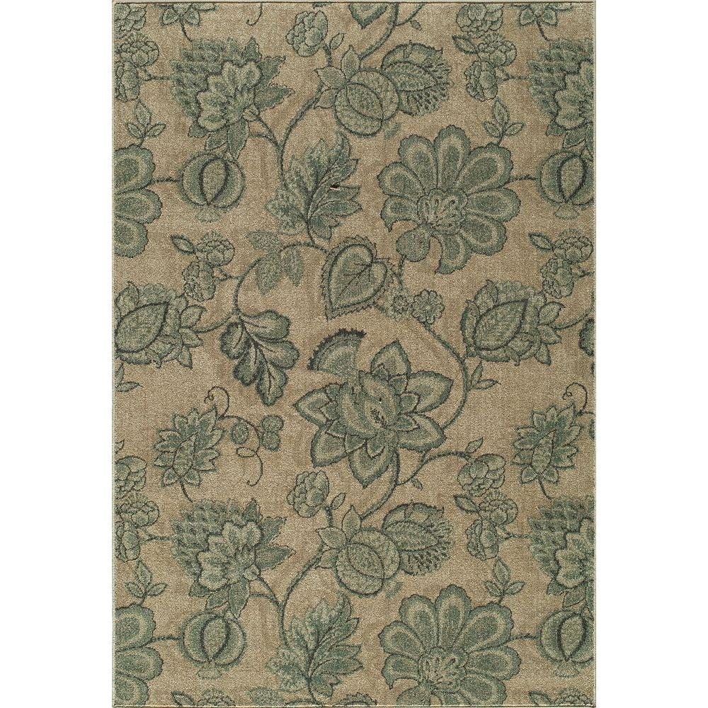 Momeni Vista Beige 7 ft. 10 in. x 9 ft. 10 in. Area Rug