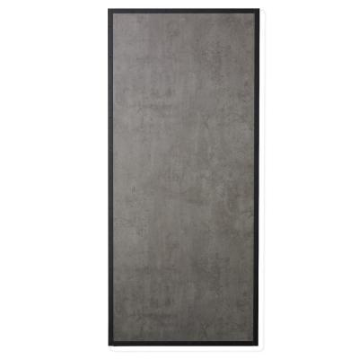 33 in. x 84 in.  Prefinished Concrete Look MDF and Pine Core Interior Barn Door Slab