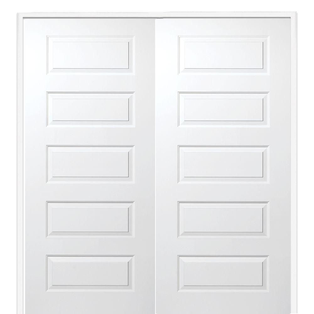 72 x 80 primed french doors interior closet doors the home 72 in x 80 planetlyrics Gallery