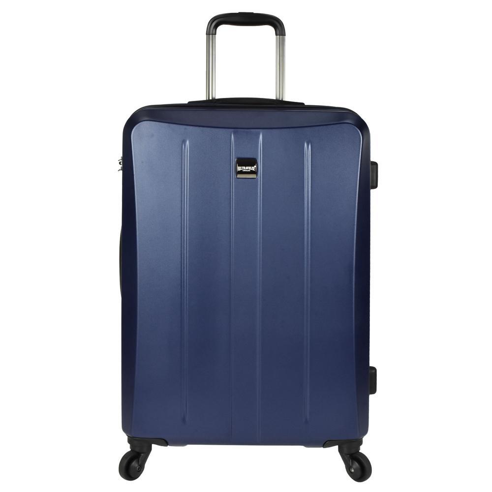 Highrock 26 in. Hardside Spinner Suitcase, Navy