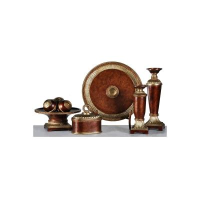 Winfield Decorative Accessory Group Decorative Accessories Winfield Bronze 5-Piece Set
