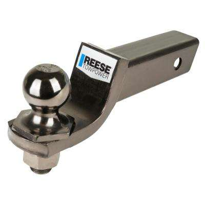 2 in. Ball Mount Bar and Ball with Black Nickel