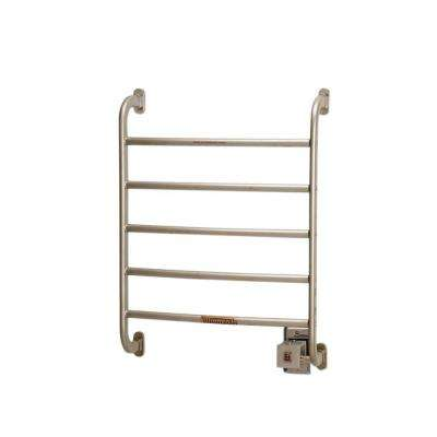 Regent 24 in. Towel Warmer in Satin Nickel