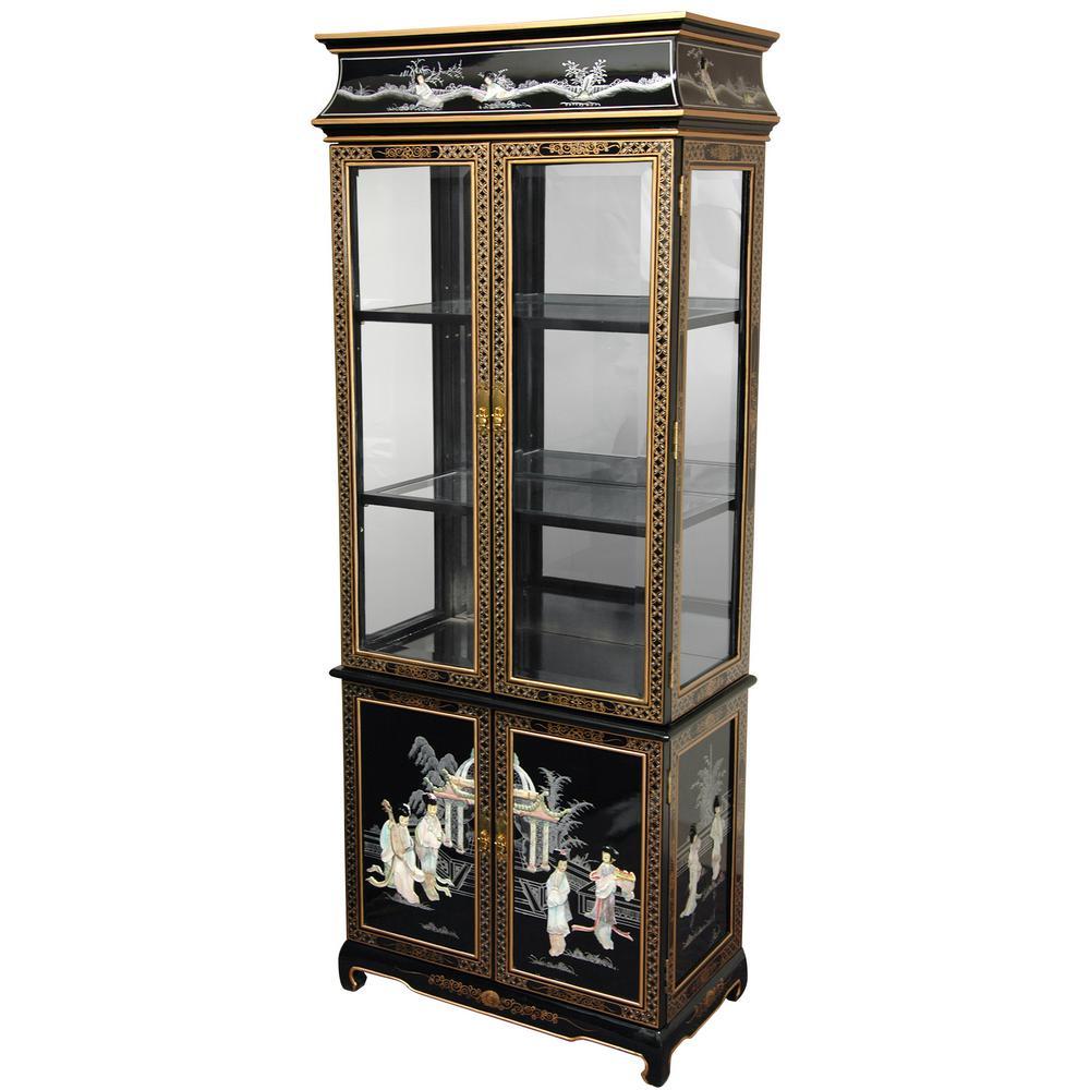 Oriental Furniture Black Mother