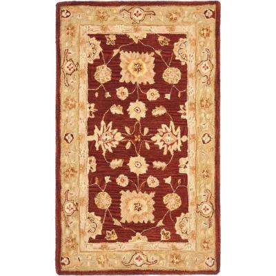 Anatolia Red/Sage 4 ft. x 6 ft. Area Rug