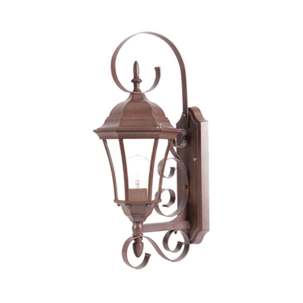 Acclaim Lighting New Orleans Collection 1-Light Burled
