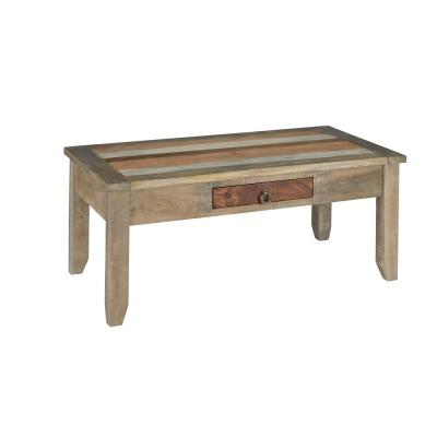 Passport 43 in. Ombre Large Rectangle Wood Coffee Table with Drawers