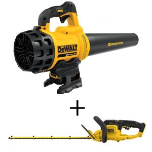 Dewalt 90 MPH 400 CFM 20-Volt MAX Lithium-Ion Cordless Handheld Leaf Blower with... by DEWALT