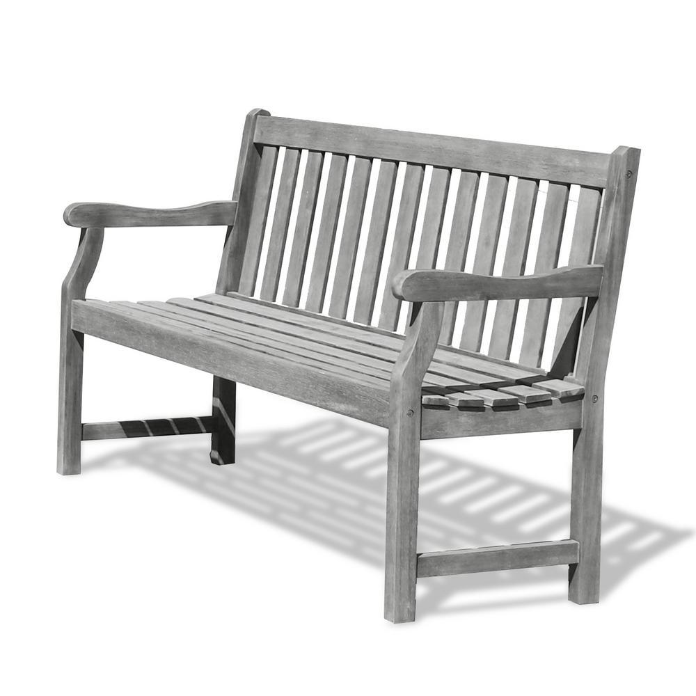 Miraculous Vifah Renaissance 5 Ft Patio Bench Ncnpc Chair Design For Home Ncnpcorg