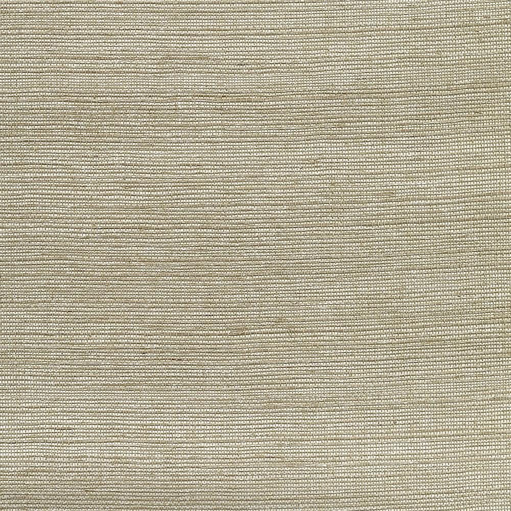 72 sq. ft. Galan Silver Grass Cloth Wallpaper