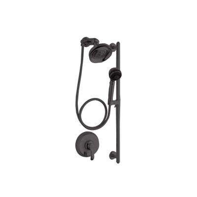 Fairfax 3-Spray Round Performance Showering Package in Oil-Rubbed Bronze (Valve Not Included)