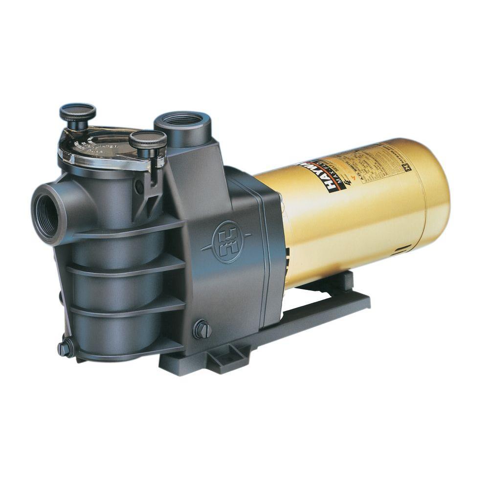 Hayward Max Flo 1 1 2 Hp Pool Pump Sp2810x15 The Home Depot