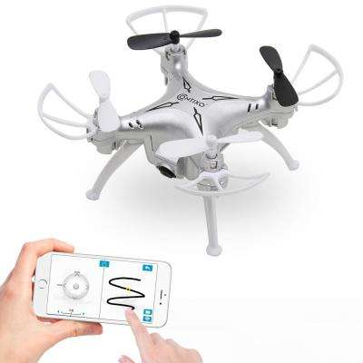 F3 RC Quadcopter Drone Track-Controlled Mini-Drone (Silver)