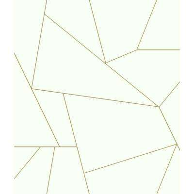 FractuRed Prism Gold Paper Peelable Roll (Covers 34.17 sq. ft.)